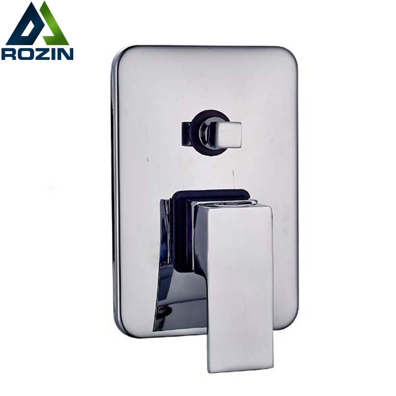 Discount Faucets And Sinks >> 2 Ways Shower Valve Best Quality Square Shower Mixer Faucet Control Valve Diverter Wall Mounted ...