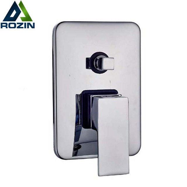 2 Ways Shower Valve Best Quality Square Shower Mixer Faucet Control Valve  Diverter Wall Mounted