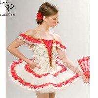 2017 Gymnastics Leotard Girls Lady Swan Lake Ballet Costumes Children Adult Professional Tutus Dance Wear Performance
