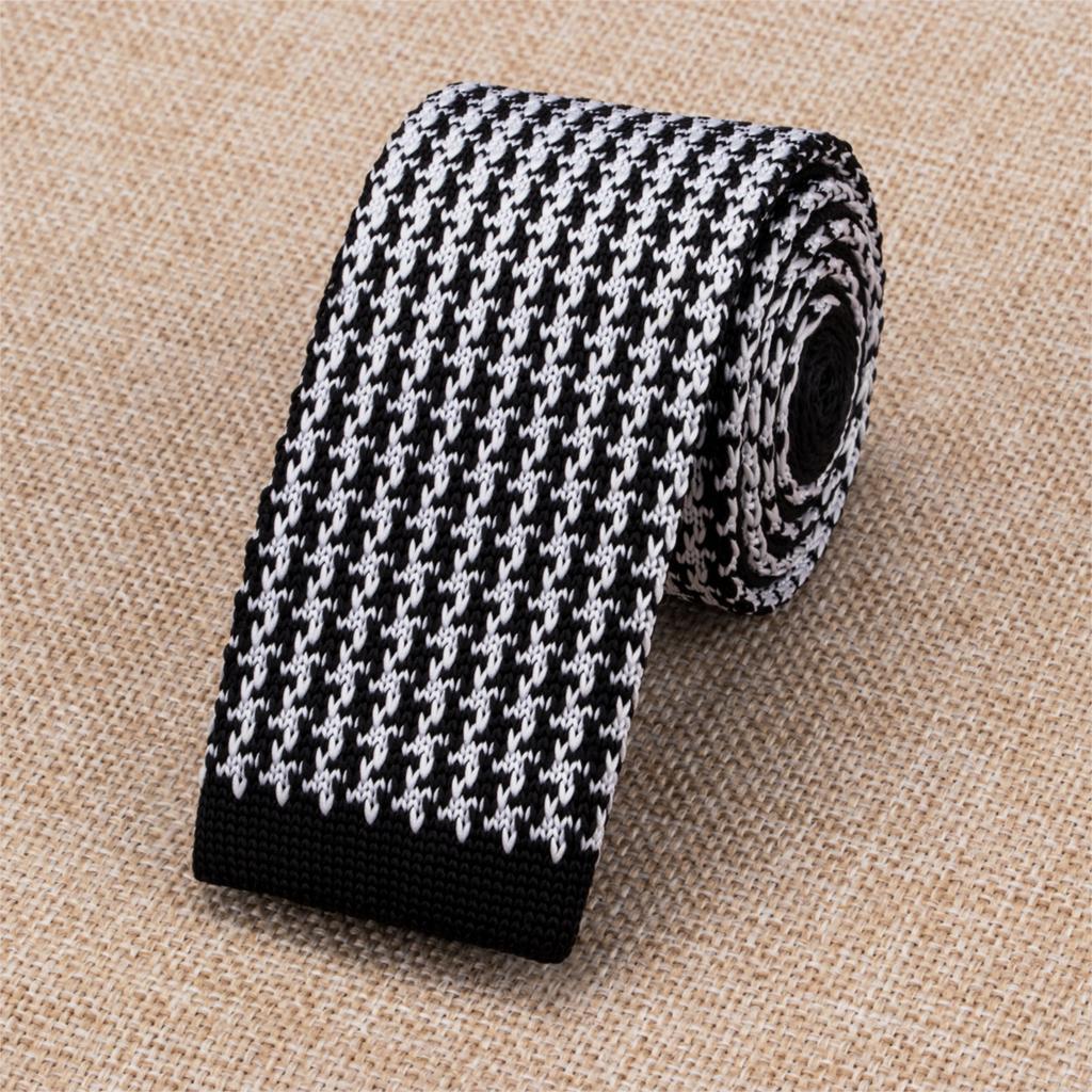 E 342 Hi Tie Fashion Skinny Knitted Ties For Men 6cm Vintage Slim ...