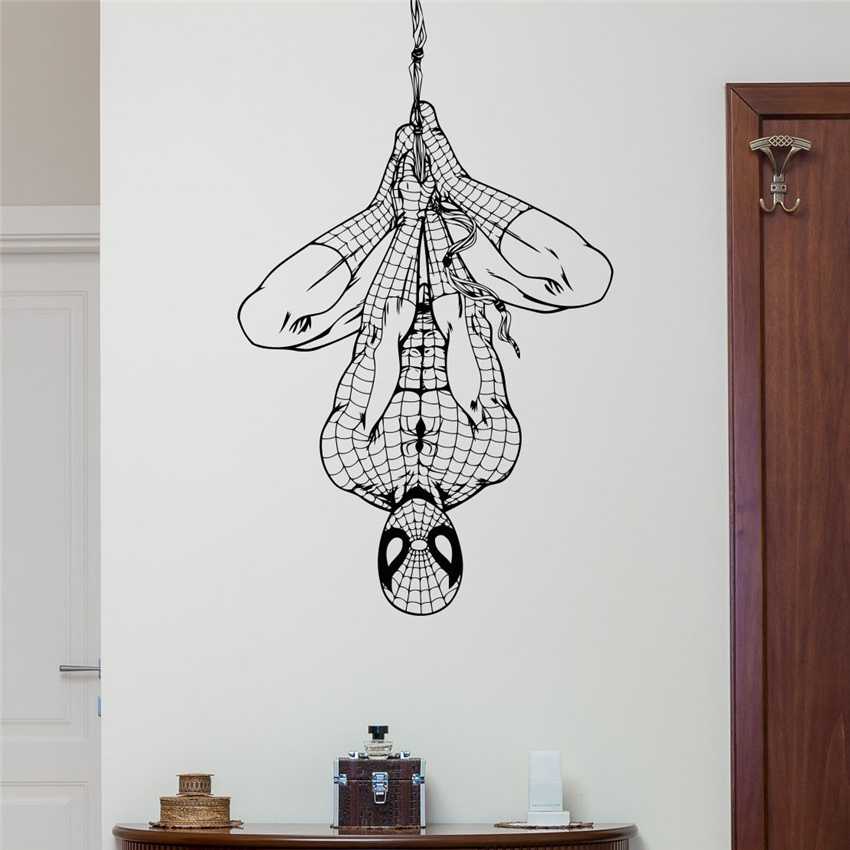 Spiderman Wall Decal Superhero…