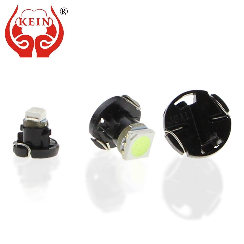 5 Green SMD LED T4.7 Neo Wedge 12v Interior LED Bulb