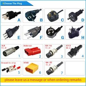 Image 5 - 43,8 V 8A LiFePO4 Batterie Ladegerät Für 12S 36V LiFePO4 Batterie Ladegerät Aluminium Shell Smart Ladegerät