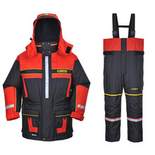 Greatrees Men 's Nylon Lifesaving Floatation Suits for RED waterproof breathable windproof Suits