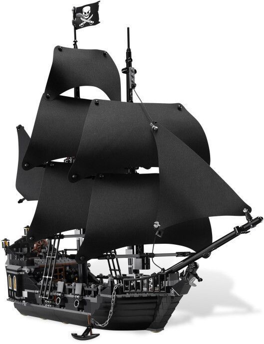 Lepin building bricks Pirates of the Caribbean The Black Pearl Pirate Ship Model set legoesBuilding Blocks Kits Toys without box