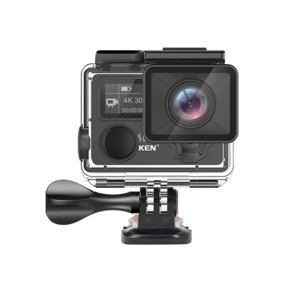 EKEN H5s Plus 4 k + Écran Tactile Caméra Ambarella A12 Chipset 4 k Stabilisation D'image WiFi Sony Capteur Capteur 2.0 pouce Écran Tactile - 2