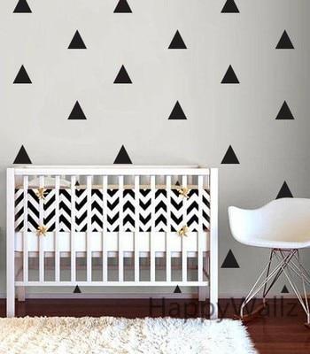 aliexpress.com : acquista stile nordico triangolo wall sticker ... - Adesivi Per Camera Da Letto