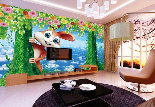 € 27.01  Couleur coucher du soleil fleur mer pâturage 3D paysage peinture  fond mur chambre moderne papier peint Décoration de La Maison dans Fonds ...