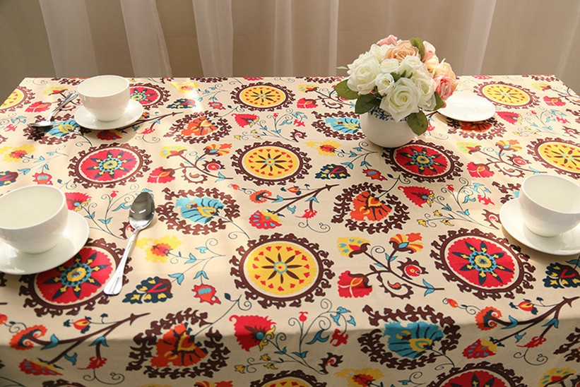 Coffee Table Linen Part - 43: Sunflower Linen Table Cloth Blue Tablecloth For The Table Rectangle Table  Cover Table Linens 8 Sizes Available-in Tablecloths From Home U0026 Garden On  ...
