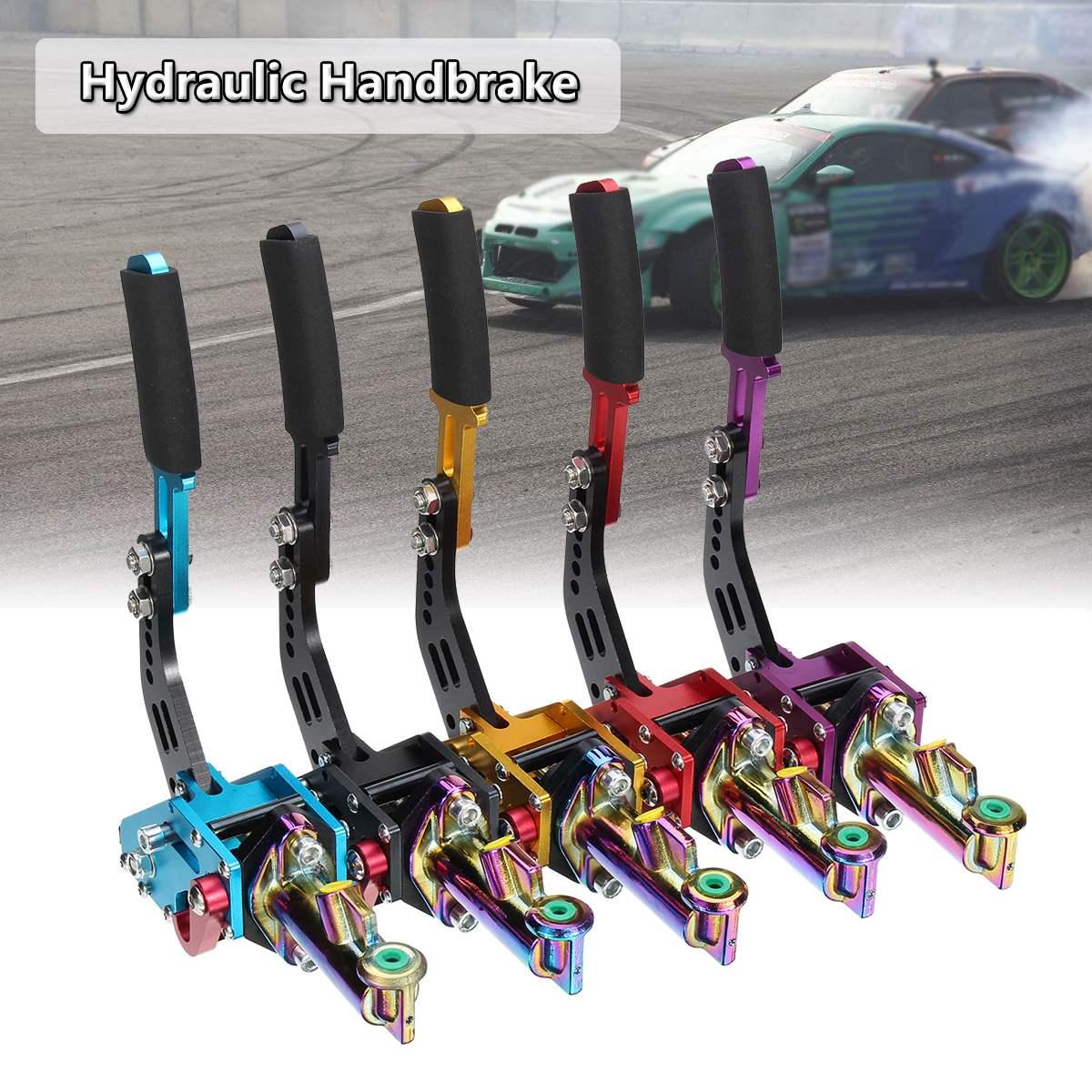 цена Universal Vertical Racing Escort Rally E-Brake Drift Hydraulic Handbrake Hydro в интернет-магазинах