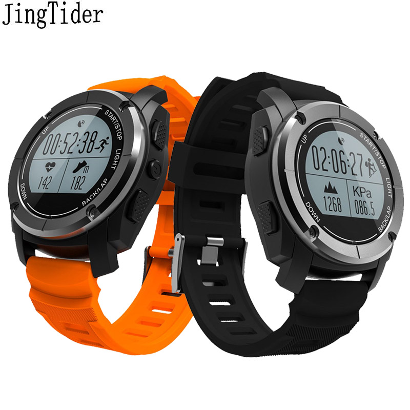 S928 Smart Sport Watch GPS Outdoor Sport Professional Heart Rate Monitor Air Pressure Altimeter Smart band For IOS Android