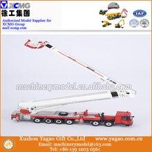 Modelo Em Escala 1:50, fundido Brinquedo, Modelo de construção, XCMG DG100 Modelo Caminhão de Bombeiros com Bombeiros Figura Da Boneca