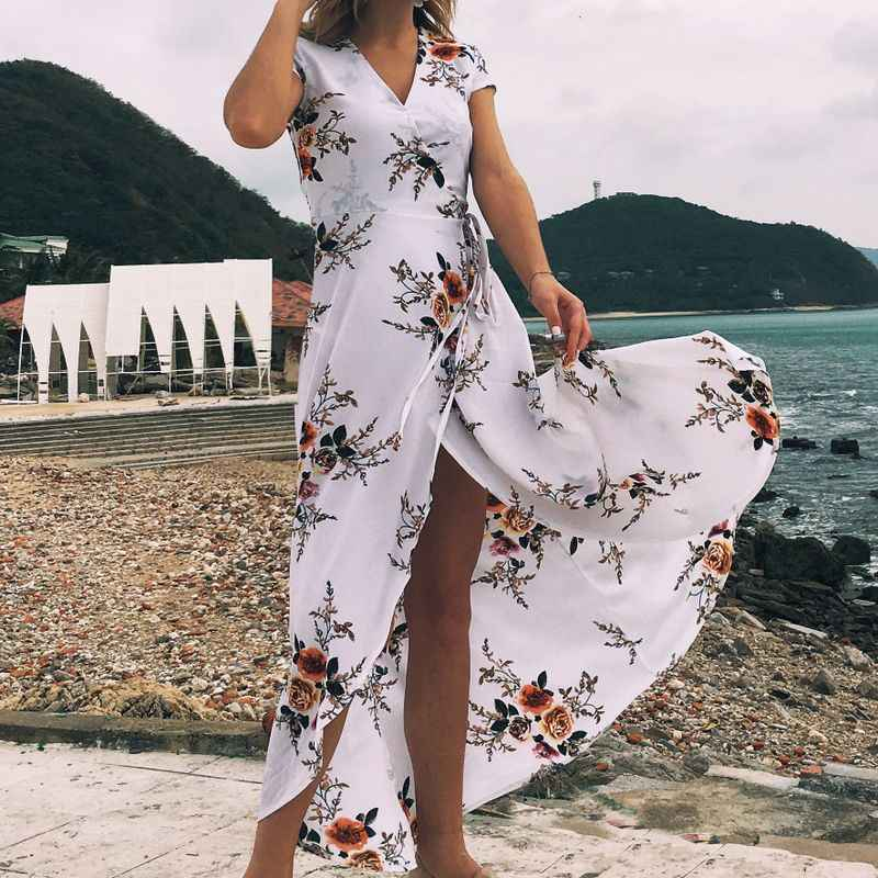 4dadc05874771 Dress For Beach 2019 Outings Tunic Summer Cover Up Swim Suit Women Swimwear  Robes Plus Size
