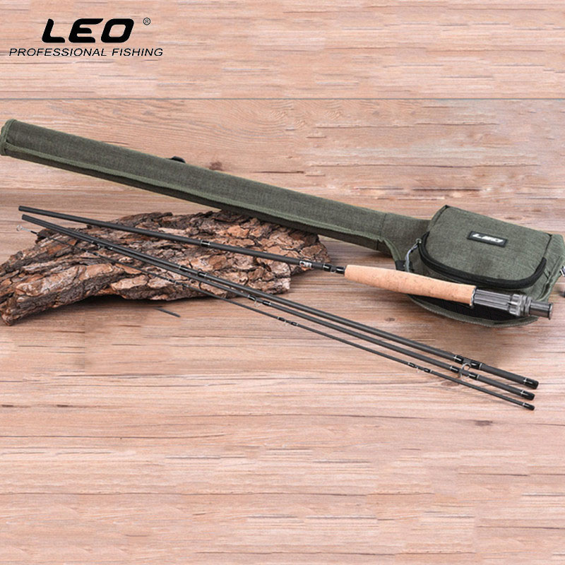 LEO Fishing Rod Bag Combo Full Kit 9FT 2.7M Carbon Fly Fishing Rod Bag Set Fly Fishing Pole 4/5/6/7/8 WT With Fly Fishing Bag fly–fishing with children – a guide for parents page 5