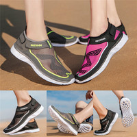 Summer Beach Shoes Outdoor River Casual Wading Sports Men Women Couple Summer Beach Water Shoes Silicone Elastic 01
