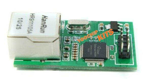 WIZnet W5100 Ethernet Module TCP / IP protocol stack SPI module - YOOCHIP ELECTRONICS CO.,LIMITED store