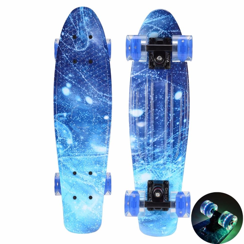 공간 그래픽 인쇄 미니 크루저 플라스틱 스케이트 - 롤러 스케이트, 스케이트 보드 및 스쿠터