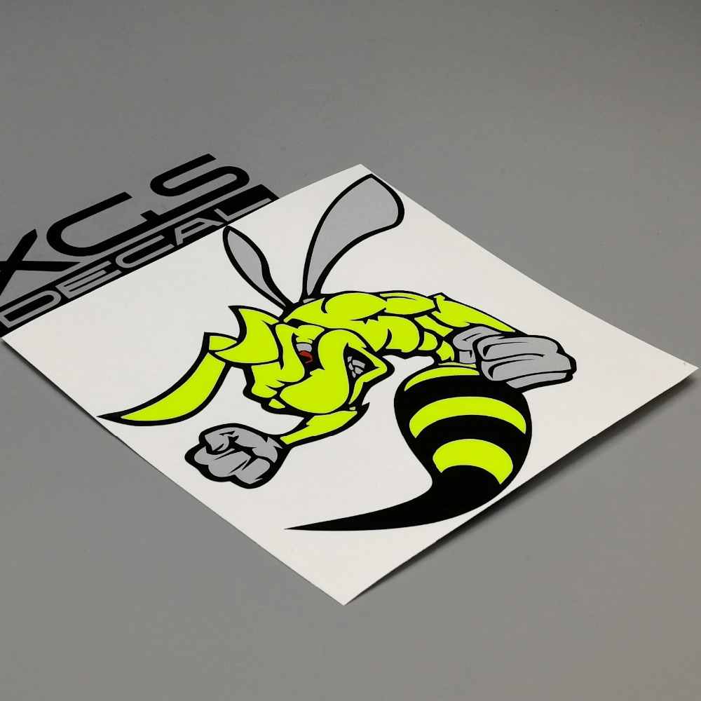 XGS DECAL car auto styling multilayer vinyl cut decal Super bee Left waterproof outdoor sticker for car motorcycle Helmet 1000m motorcycle helmet intercom bt s2 waterproof for wired wireless helmet