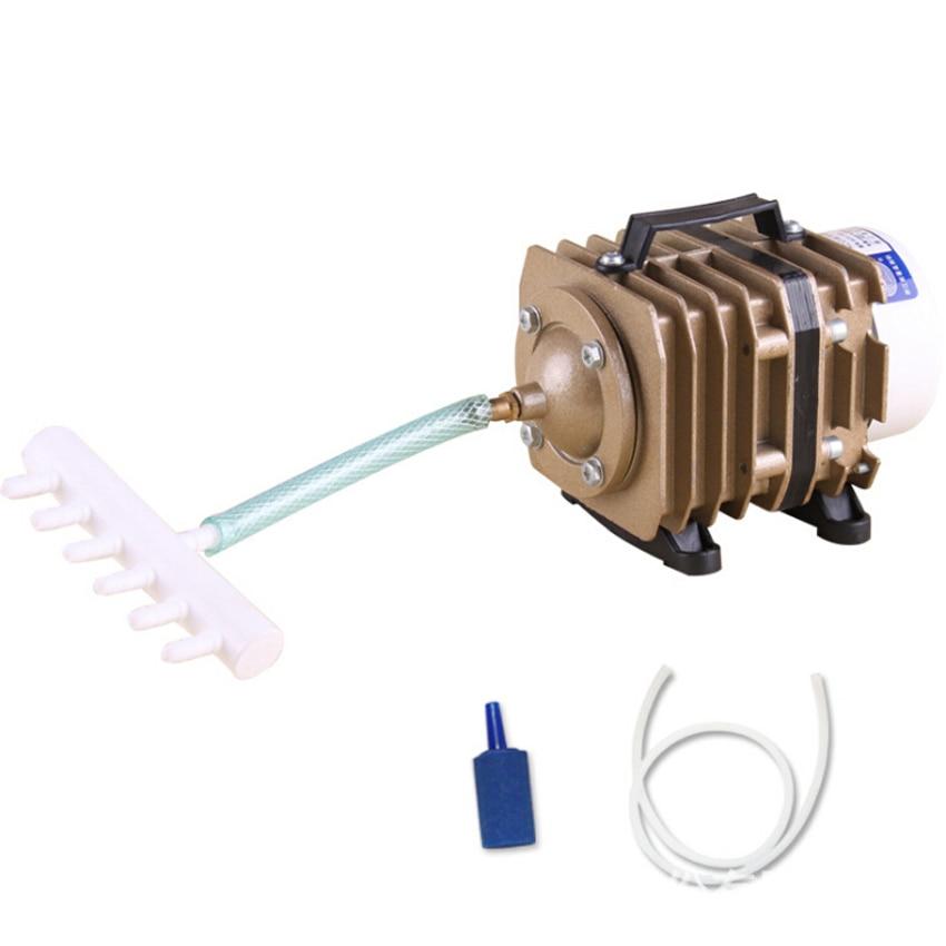 SUNSUN sērija elektromagnētiskā akvārija gaisa sūkņa skābekļa tvertne akvārijs gaisa kompresors dīķis 220V kompresors akvārija zivīm