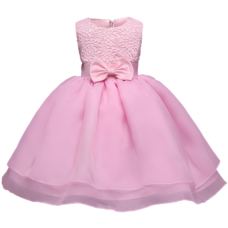 Newborn 1 Year Fist Birthday Baby Girl Dress For Baptism Christening Infant Cheap Dresses Ball Gown 2nd Toddler Bebes Vestidos