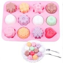 Форма для выпечки торта силиконовая форма для мыла, 3D приспособления для шоколада форма для выпекания Формы-лотки для изготовления конфет сделай-сам Желейный десерт лоток