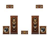 F8HT 5,2 домашний кинотеатр Классическая стиле high end акустики 2,0 стерео Hi Fi системы домашнего кинотеатра/Музыка playbackEuropean стиле шкаф
