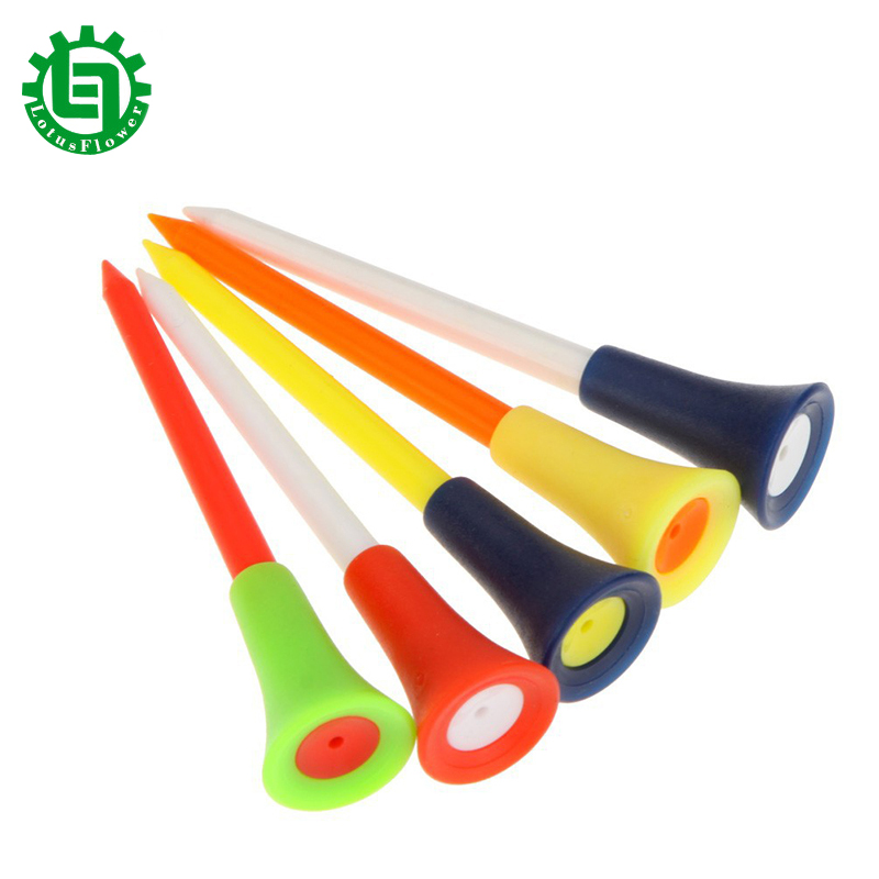 20 Pcs/set 83mm Hot Sale Durable Rubber Cushion Top Golf Tee