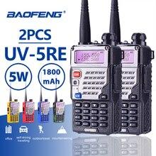 2 шт Baofeng UV-5RE длинные позвонил 10 км рация PTT наушники Портативный радиолюбитель Baofeng UV-5R плюс Автомобильная радиостанция UV5R