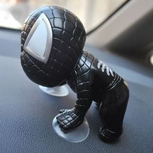 1pcs 12cm Climbing spiderman sucker robot toy Cartoon PVC action Figures Mini Suction stikbot studio model