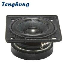 Tenghong 2 sztuk 1.5 Cal głośniki pełnozakresowe 4Ohm 5W przenośny głośnik Audio jednostka dla kina domowego głośniki DIY wokal dźwięk