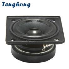 Tenghong Altavoces de rango completo de 1,5 pulgadas, dispositivo de Audio portátil de 4Ohm y 5W, para cine en casa, 2 uds.
