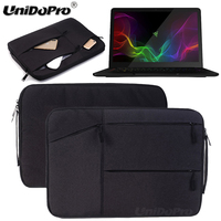 Unidopro Classic Notebook Handbag Sleeve Briefcase For Dell XPS 15 XPS9550 0000SLV 15 6Inch Laptop Mallette