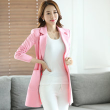 Female In the long section Slim font b jacket b font