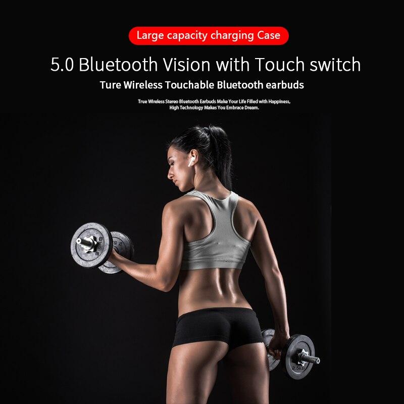 Freebud Palpable 5.0 écouteurs bluetooth HD Stéréo TWS Sans Fil Écouteurs Bruit-Annulation écouteurs pour iphone xiaomi - 5