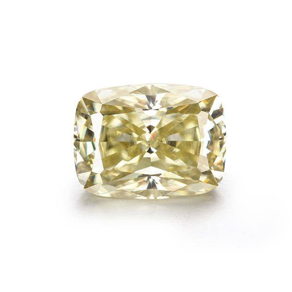 Sales 6 Carat 9 12mm Yellow Color Moissanites Loose Stone Lab Diamonds for Jewelry