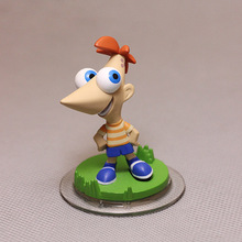 Phineas and Ferb Kids Toys Phineas Flynn 7.5CM Mini Size Action Figure Kids Toy Doll