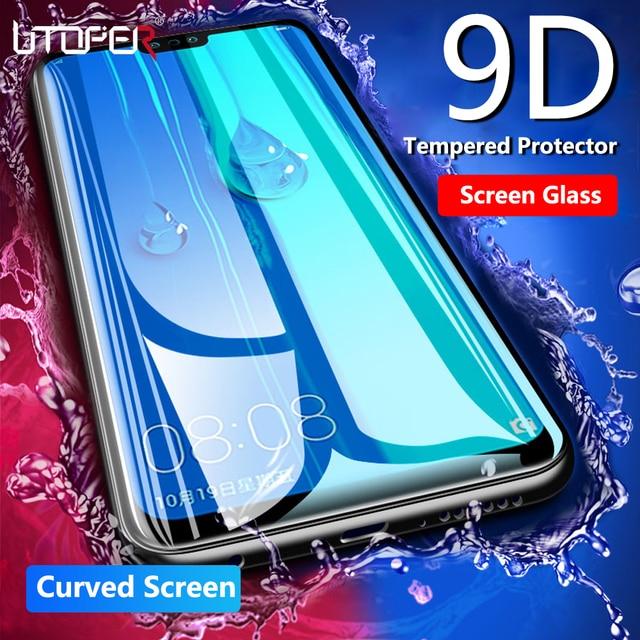 9D закаленное защитное стекло Стекло для Honor 10i Экран протектор Стекло на huawei P30 Pro P20 Lite Стекло Полный Защитная пленка крышка