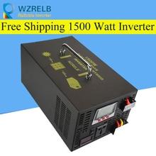 Micro grid tie inverter 12V/24V 1500W Peak Power Inverter Voltage Convertor Transformer 48V Automatic Adaptable цена