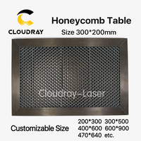 Laser Enquipment Parts Honeycomb Working Table For CO2 Laser Engraver Cutting Machine 300x200mm