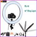 """Meking RL-18 Camera Photo Video 18 """"55 W 240 PCS LEVOU 5500 K Regulável Fotografia Luz De Vídeo Anel para Luz de Preenchimento câmera"""