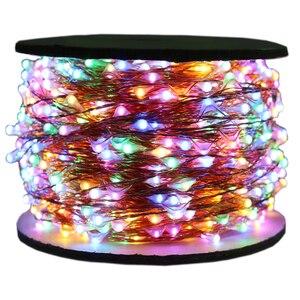 Image 5 - Guirlande lumineuse décorative la plus longue pour noël, avec prise de 5M, 10M, 20M, 30M, 50M, 100M, 1000, LED lumières, étanche