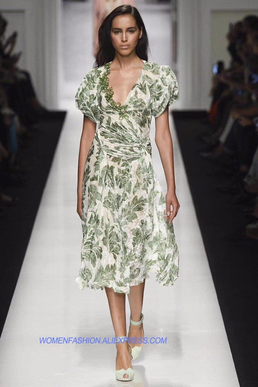 Robe de velours de mode pour femmes robe vert femmes de robe d'été sexy V col bureau robe elbise élégant moulante robes