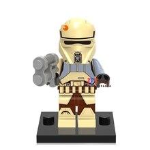 Single Sale star wars superhero Imperial Shoretrooper building blocks model bricks toys for children brinquedos menino