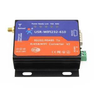Serielle WIFI Konverter USR-WIFI232-610 V2 Serielle RS232 RS485 zu Drahtlose WiFi Ethernet Networking Adapter Modul VS HF2211