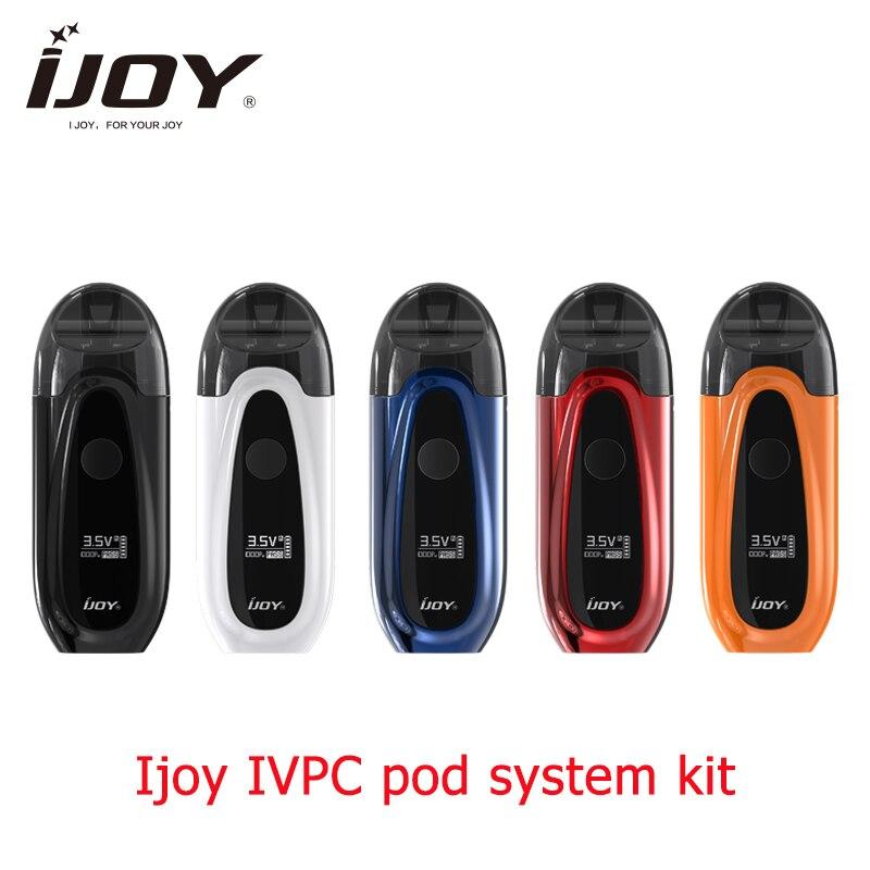 Nouveauté Ijoy IVPC Kit 450 mAh batterie intégrée avec catridge et USB Charging pod système vs justfog minifit C601