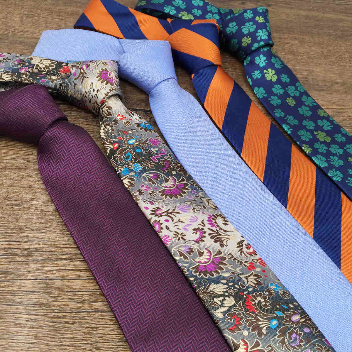 Accessories Ties For Men Paisley Classic Necktie Blue Green New
