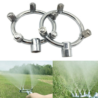 Stainless Steel High Pressure Fog Misting Nozzle Garden Sprinklers Multihole Irrigation Fitting Water Connector M14*1.5 Thread