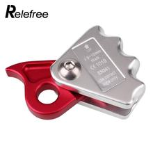 20KN Outdoor Tree Rock Climbing Gear Arborist For 12mm Rope Grab Protecta Equipment Aluminum alloy Climbing Accessories
