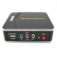 HD Video Capture 1080P Game Capture HDMI YPbPr Recorder Box To USB Disk For XBOX One