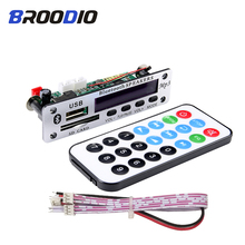 MP3 Bluetooth Speaker Player Decoding Board Lossless Music Player USB MP3 Decoder 12V Wireless Audio Module With SD Card For Car цены онлайн